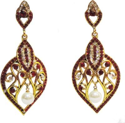Traditsiya Royal Dangler Alloy Drop Earring