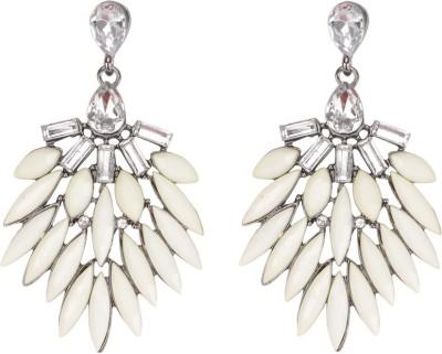 Sanida Stone studded Chandelier Metal Drop Earring
