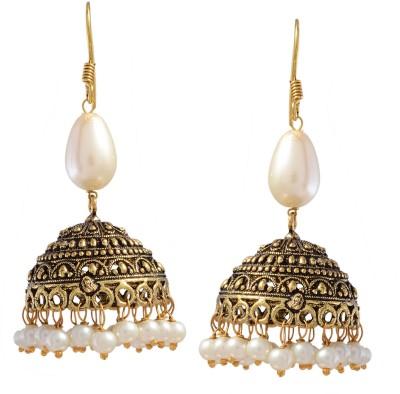 Ark Traditional India Metal Jhumki Earring