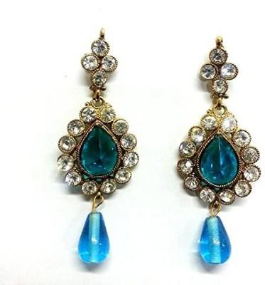 NFJ Blue Stone Copper Drop Earring