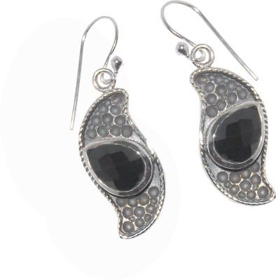 Arvino Morning Sun Onyx Sterling Silver Dangle Earring