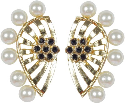 Muchmore Cute Earring For Woman And Girls Party Wear And Wedding Fashion Jewelry Pearl Made Pearl Alloy Stud Earring