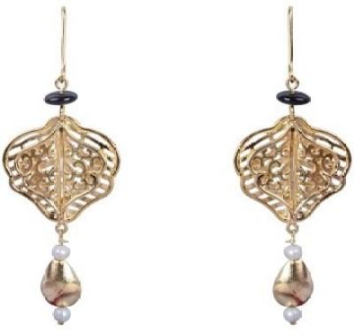 Amalaan Jewels Designer Brass Dangle Earring
