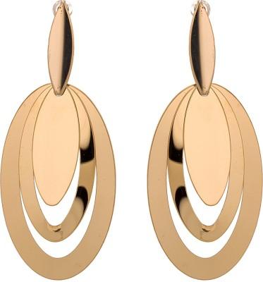 Shanti Jewellery Three Round Plane Alloy Drop Earring