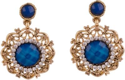 R18Jewels-Fashion&U Ornamental Princess_Fashionista Metal, Crystal Drop Earring