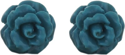 Classique Designer Jewellery Rose Coral Alloy Stud Earring