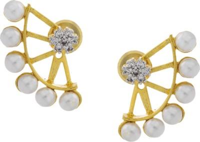 Prisha ADEAR863 Zircon Copper Stud Earring
