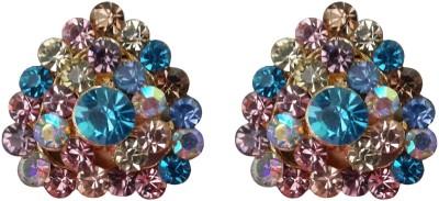 Shreya Collection Spring Sparkle-Multicolor Alloy Stud Earring