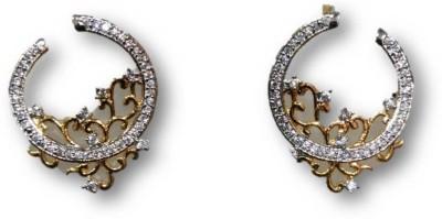 Rajgharana Filigree Round Cubic Zirconia Alloy Stud Earring