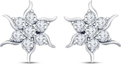 Mani Jewel Star White Gold 18kt Diamond Stud Earring