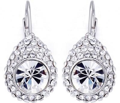 Yellow Chimes Princess Swarovski Crystal Alloy Clip-on Earring