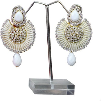 Aza Collections Designer Alloy Drop Earring
