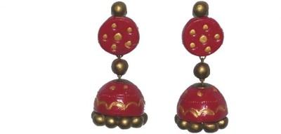 Aanya Creations Traditional Ethnic Ceramic Jhumki Earring