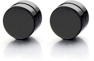 Sai Shop Black Stainless Steel Magnetic Earring