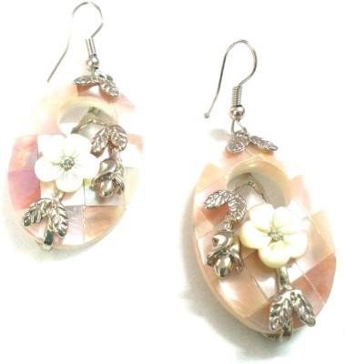 6LOTUS Exotic Shell Dangle Earring
