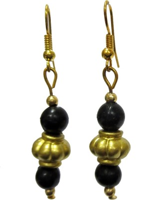 DCS Block Wood Dangle Earring
