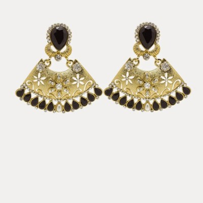 Angeli Georgeous Alloy Chandbali Earring