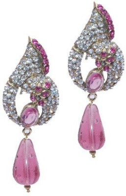 Buy Clues RCJ3064 Crystal Brass Drop Earring