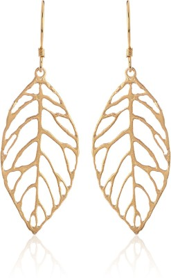 Thingalicious Trendy Fall Leaf Alloy Dangle Earring