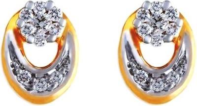 Gunjan Diamond Sunshine Diamond Gold Stud Earring