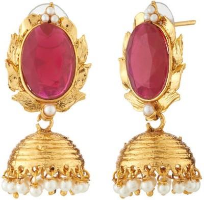 Ratnaraj India Beautiful Design Traditional and Antique Copper Jhumki Earring
