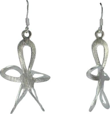 GnJ Star Sterling Silver Dangle Earring