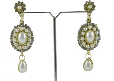 Tradeyard Impex Attractive Cubic Zirconia Alloy Drop Earring