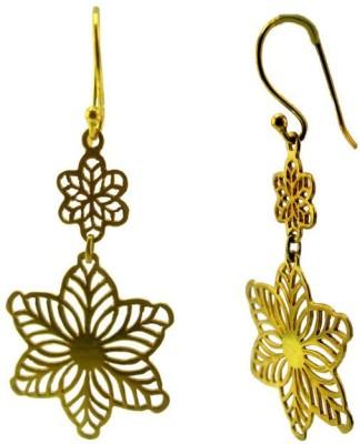 VelvetCase Star Flower Jewelry Silver Stud Earring