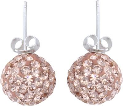 JHL Silver Girls Desire Silver Stud Earring