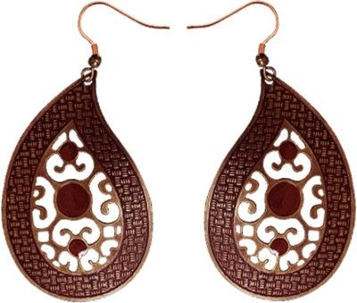 Kenway Retail Love Of Summer Brass Dangle Earring