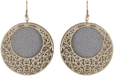 NK Jewels Cubic Zirconia Metal Dangle Earring