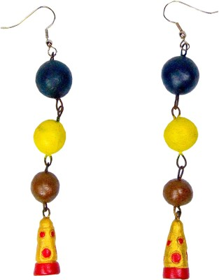 Retaaz Aasmi Karnika Terracotta Ceramic Dangle Earring