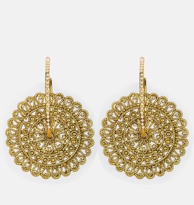 Bridesmaid Copper Dangle Earring