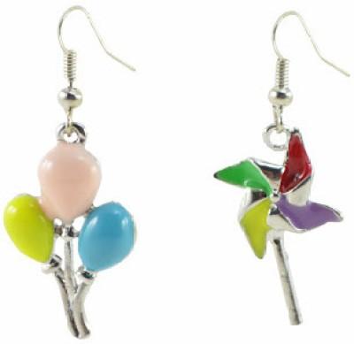 Antiformal Plastic Drop Earring