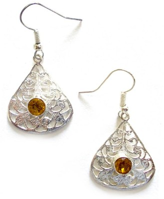 Fashion67 Stylish Elegant Quartz Brass Drop Earring