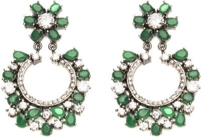 Joyas Trendy look Brass Chandbali Earring