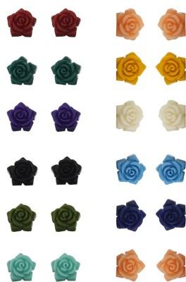 Classique Designer Jewellery Beautiful Coral Alloy Earring Set