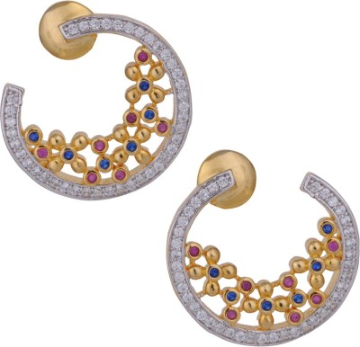 Anannya Jewelry Style Diva Copper Stud Earring