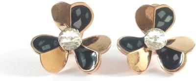 Jasveen Jewellery Multicolor WIth Crystal Swarovski Alloy Stud Earring
