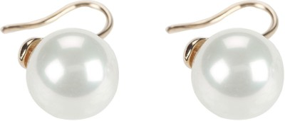 Narankha A Drop Of Pearl Alloy Dangle Earring