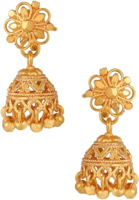 Fashionaya Madras Brass Jhumki Earring
