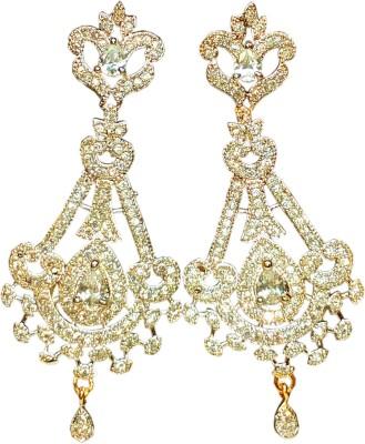 AVSM Creations Princess Design Alloy Drop Earring