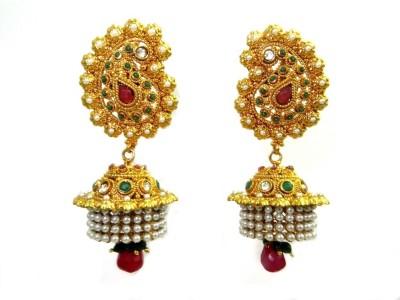 Keva Art Jewellery Alloy Jhumki Earring