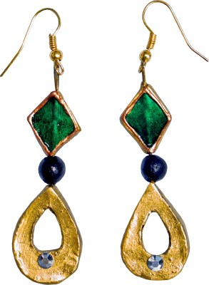 Retaaz Sovana Karnika Terracotta Ceramic Dangle Earring