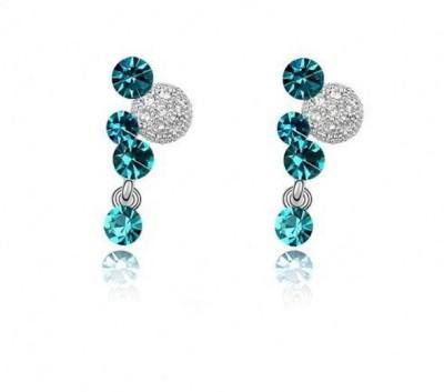Yiwu STEP Crystal Alloy Stud Earring