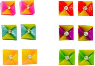 Gayatri Creations DAILY Plastic Stud Earring