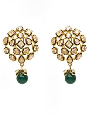 Joyas Designer Brass Drop Earring