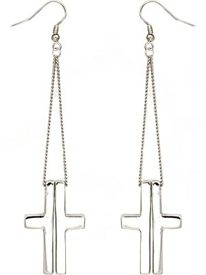 Madclozet Gothic Metal Dangle Earring