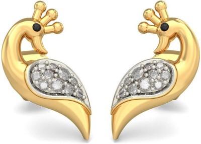 Joyra Classy Swarovski Zirconia Sterling Silver Stud Earring
