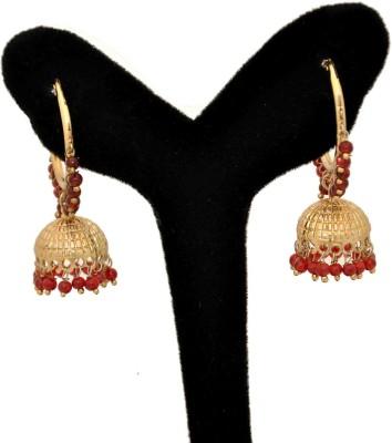 Arohi Jewells & Gems AJG114 Copper Earring Set